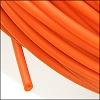 rubber tube per FOOT ORANGE