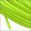 rubber tube 2mm per FOOT NEON GREEN