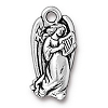 angel charm ANTIQUE SILVER