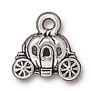 carriage charm ANTIQUE SILVER