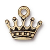king's crown charm ANTIQUE GOLD