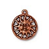 sunshine charm ANTIQUE COPPER