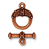 celtic toggle ANTIQUE COPPER tone