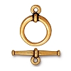 clasp set LG tapered ANT GOLD tone