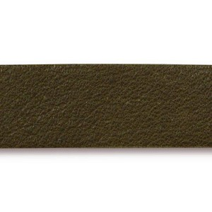 Leather Strip OLIVE - per piece