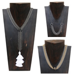 Fishbone Necklaces