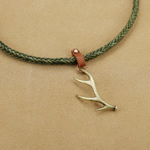 Deer Horn Necklace