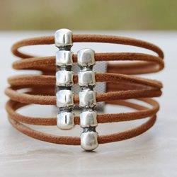 5 Loop 3mm Suede Bracelet