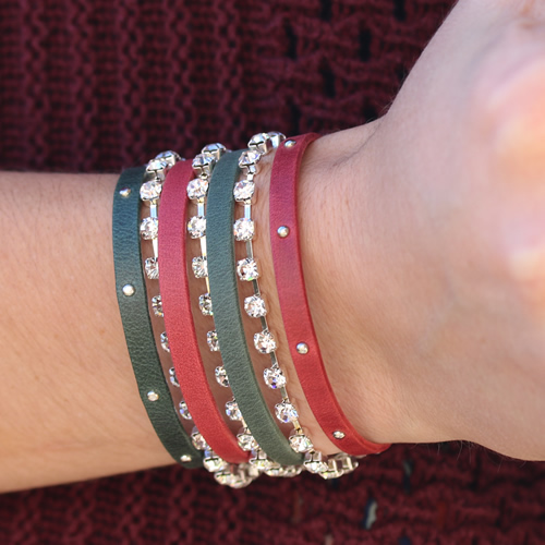 7 Loop Bracelet Holiday Style
