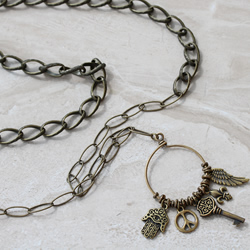 Brass Chains and Charms