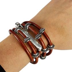 4mm Round Wrap Bracelet