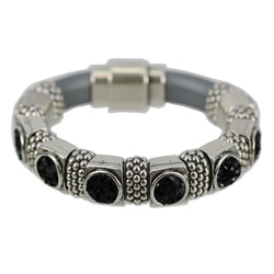 Regaliz Black Bling Bracelet