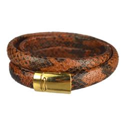 Regaliz Python Bracelet