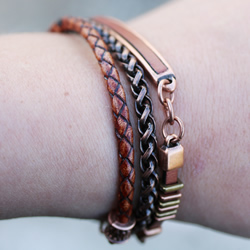 Triple Copper Bracelet