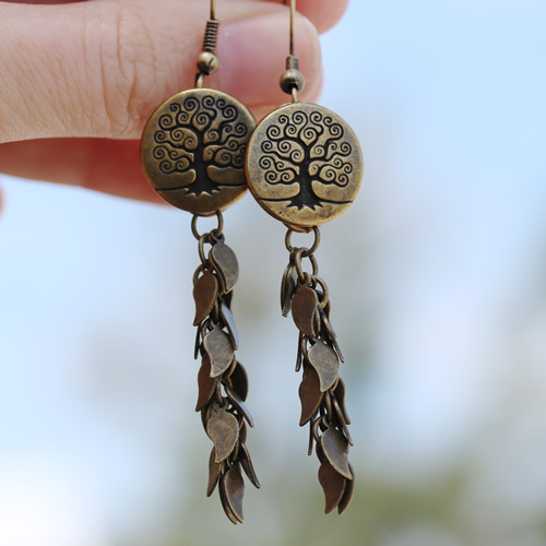TierraCast Tree of Life Earrings