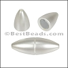 1.5mm round ACRYLIC magnet PEARL - per 10 clasps