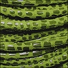 5mm round CANCUN leather LIME GREEN - meter