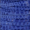 5mm flat CANCUN leather ROYAL BLUE - per 5 meters