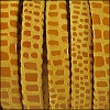 5mm flat CANCUN leather MUSTARD - per 5 meters