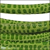 MINI Regaliz® Leather Oval CANCUN LIME GREEN - per 10m SPOOL
