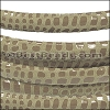 MINI Regaliz® Leather Oval CANCUN BEIGE - per 10m SPOOL