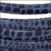 MINI Regaliz® Leather Oval CANCUN DENIM - per 10m SPOOL