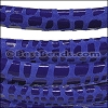 MINI Regaliz® Leather Oval CANCUN ROYAL BLUE - per 10m SPOOL