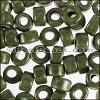 ceramic bead 1000 pcs DARK OLIVE