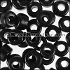 ceramic bead 1000 pcs BLACK
