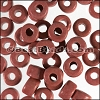 ceramic bead 1000 pcs TERRA COTTA