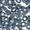 ceramic bead 1000 pcs GREY