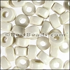 ceramic bead 1000 pcs WHITE