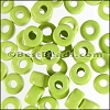 ceramic bead 1000 pcs NEON YELLOW