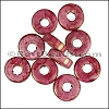 Ceramic Washer RED:PINK per 10 pieces