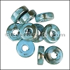 Ceramic Washer TURQUOISE:GREY per 10 pieces