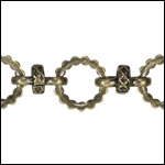 Kelly's chain ANT BRASS - per 10ft spool