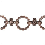 Kelly's chain ANT COPPER - per 10ft spool