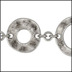 Donut chain ANT SILVER - per 10ft spool