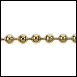3.2mm ball chain GOLD