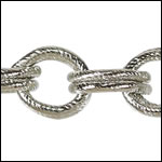 CH-111<br>Double Etched Heavy Cable Chain