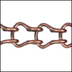 Ladder Chain ANT. COPPER - per 50ft spool
