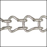 Ladder Chain ANT. SILVER - per 50ft spool