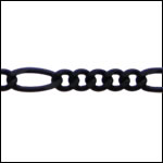 5:1 figaro chain NITE BLACK - per 25ft spool