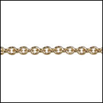 Tiny Oval chain GOLD
