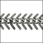 CH-174<br>Small Textured Fishbone Chain