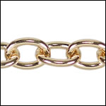 medium heavy cable chain GOLD