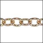 small heavy cable chain GOLD