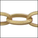 gothic chain MATT GOLD - per 32.8ft spool