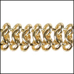 triple chainmail chain GOLD