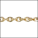 Twisted Curb chain GOLD